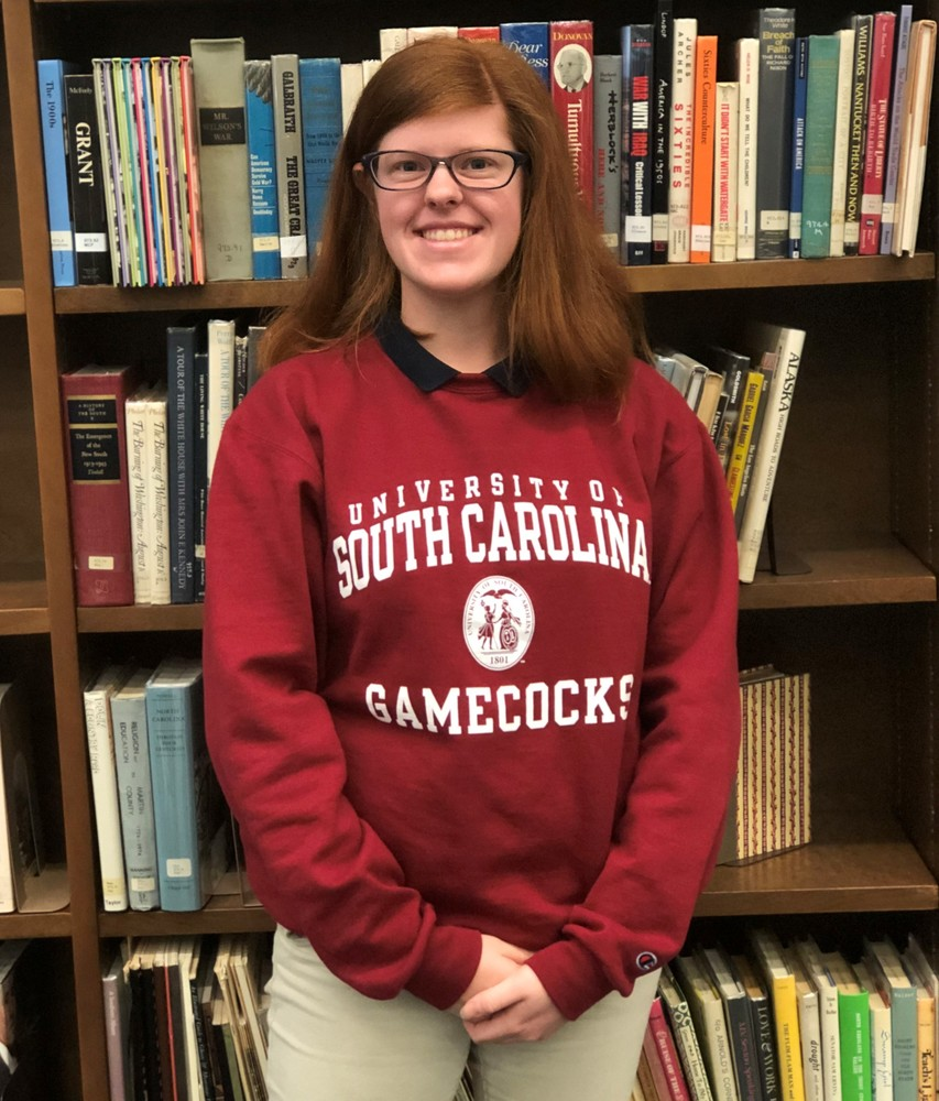 Rachel Harris - University of South Carolina - Fall 2019