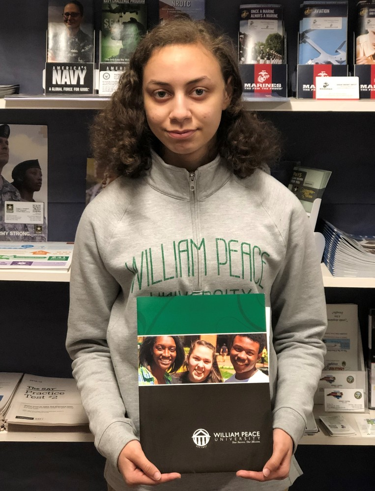 Onighia Purvis - William Peace University - Fall 2019