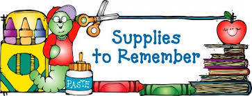 JES - School Supply List - Pre-K - 2019-2020