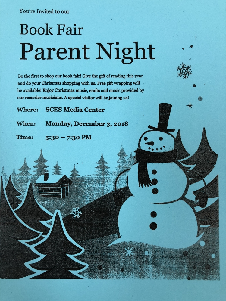 Book Fair Parent Night