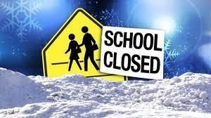 No School - Inclement Weather - January 28, 2020