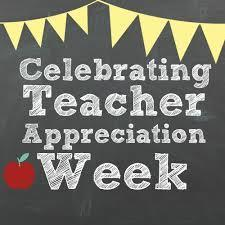 Teacher Appreciation Week 2019