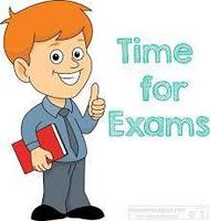 Exams Start Friday - May 31st