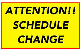 JES - Important Schedule Changes for 2020-2021
