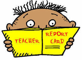 Report Card Distribution - January 27th