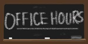 JES Office Hours - Week of March 30th