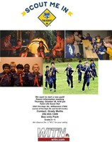 Cub Scout Organizational Meeting - October 29th