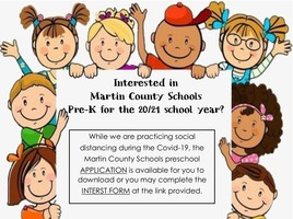 Pre-K Enrollment Interest - 2020-2021