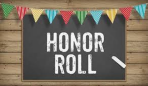 Honor Roll List for 4th Grading Period