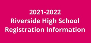 2021-2022 High School Registration