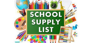 JES - School Supply List - 5th Grade - 2019-2020