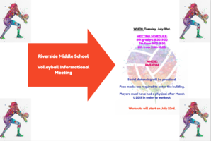 RMS - Volleyball Announcement - July 2020