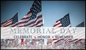 Memorial Day - May 27, 2019 - RHS Closed