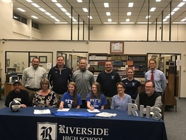 Student-Athletes Sign With PCC Volleyball
