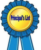 Principal's List for 4th Grading Period