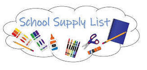 Updated-4th Grade Supply List