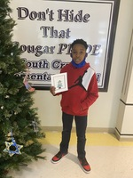 Congratulations - Deondre Bell 2nd Grade - South Creek Elementary School