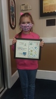 Congratulations - Olivia Terry  2nd Grade - Rodgers Elementary School