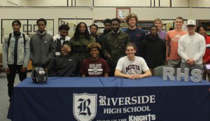 RHS Football Players Signing Day