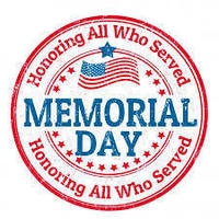 Memorial Day - May 25, 2020 - JES Closed
