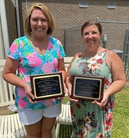 JES Staff Members Honored - 2019-2020
