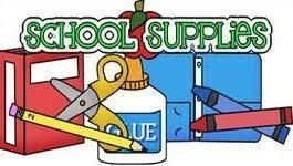 JES - School Supply List - 3rd Grade - 2019-2020