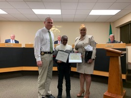 RMS Student Honored for Service