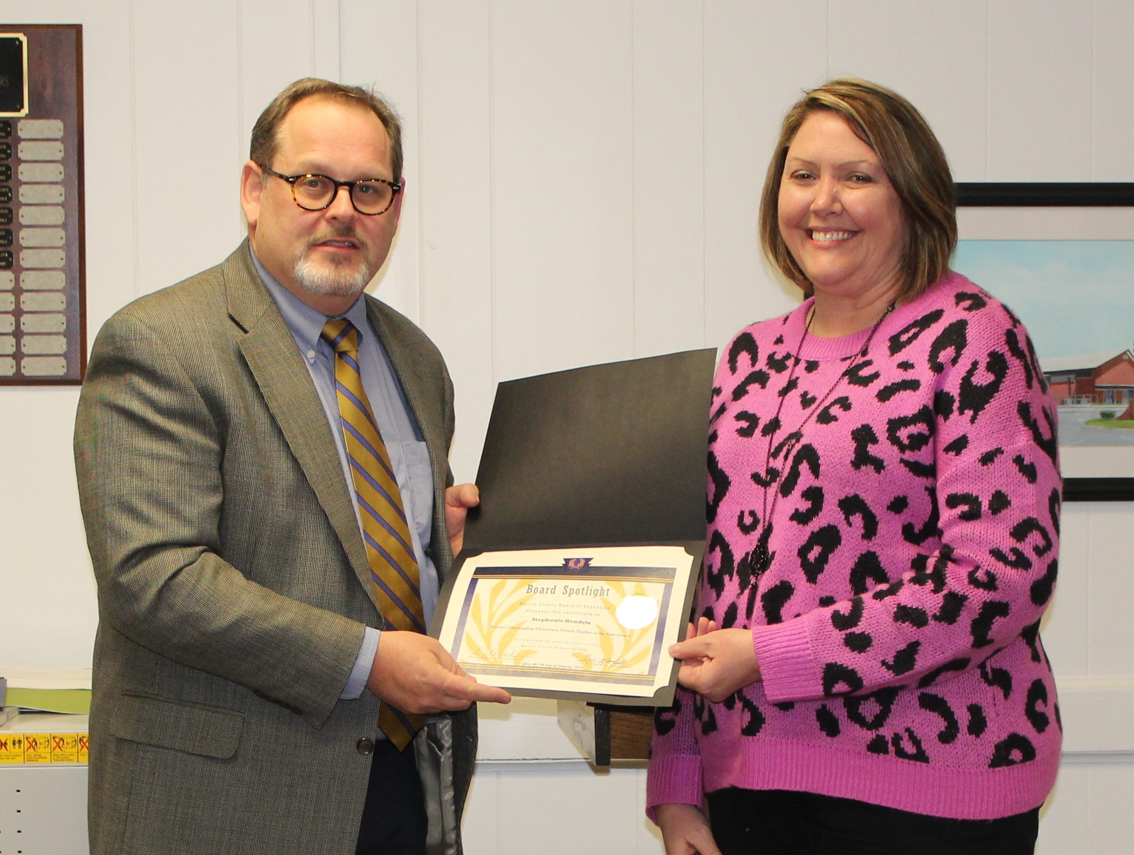 Congratulations - Outstanding Science Teacher - NE Region - November 2019